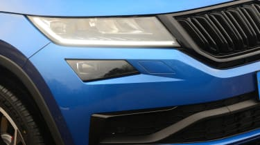 skoda kodiaq vrs headlight
