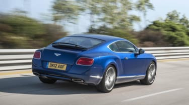Bentley Continental GT Speed rear tracking