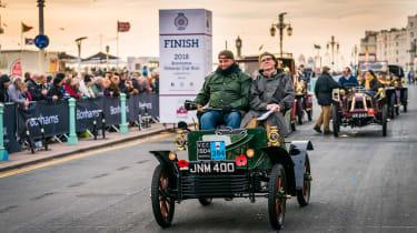 London to Brighton Veteran Car Run  -  steve finish