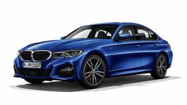 Leaked BMW 3 Series - front