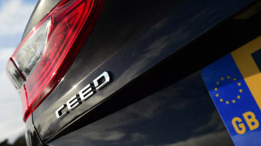 Kia Ceed GT-Line S long termer - Ceed badge