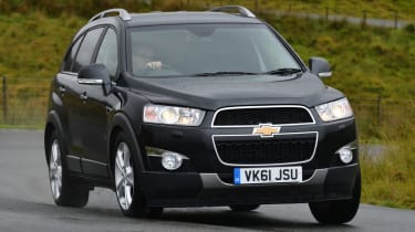 The Chevrolet Captiva.