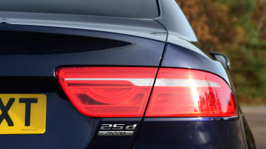Jaguar XE - rear light