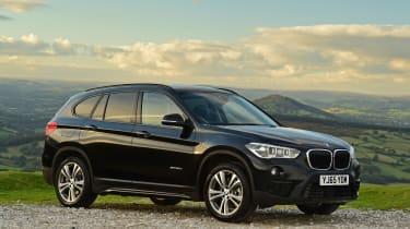 BMW X1 front quarter