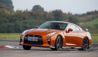 Nissan GT-R 2017 track
