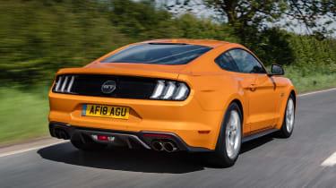 Ford Mustang V8 - rear