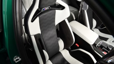 BMW M3 Competition - front seat