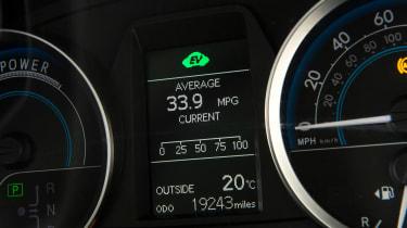 Toyota Auris Mk2 - economy figures
