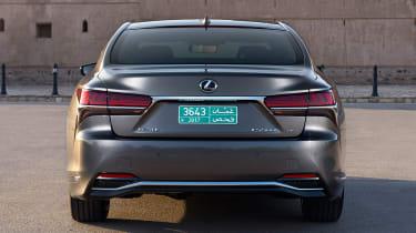 Lexus LS 500h - full rear static