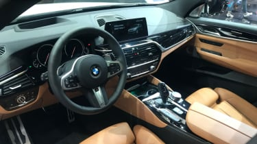 Frankfurt - BMW 6 Series Gran Turismo - interior