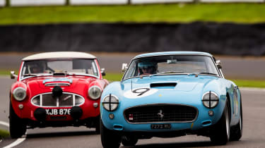 Ferrari 250 SWB Austin Healey 3000 goodwood revival