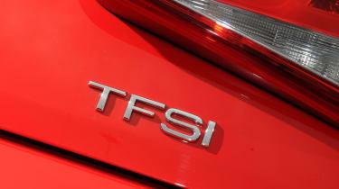 Audi A1 badge