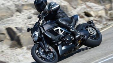 Ducati Diavel review - side profile