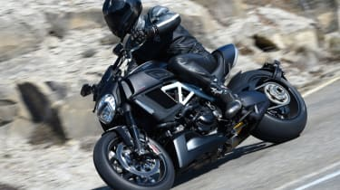 Ducati Diavel review - side profile