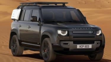 James Brodie Land Rover Defender
