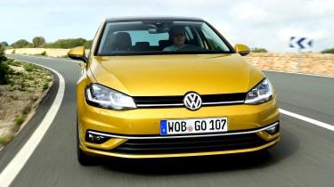 Volkswagen Golf 2017 facelift 1.5 TSI EVO - front cornering 2