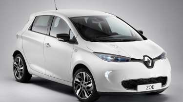 Renault Zoe Star Wars special edition - front
