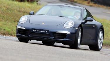 Porsche 911 front cornering