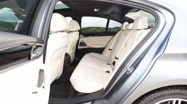 BMW 520d M Sport - rear seats