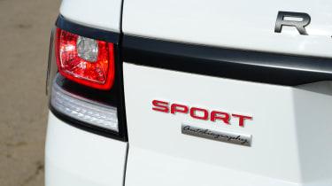 Range Rover Sport - badge