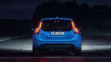 Volvo V60 Polestar - full rear night