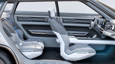 Geely Concept Icon - seats