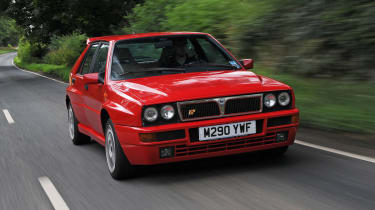 The Lancia Delta Integrale Evo 2 was voted as the second best car of the last 25 years by Auto Express readers.