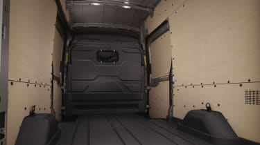 Ford Transit load space