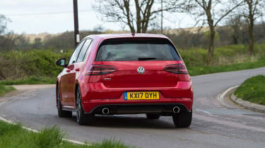Volkswagen Golf GTI - rear cornering
