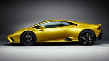 Lamborghini Huracan EVO RWD - side static