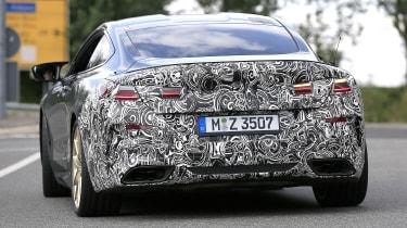 BMW 8 Series facelift - spyshot 7