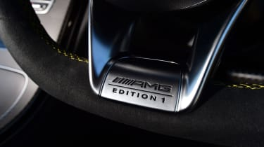 Mercedes-AMG C 63 S Coupe Edition 1 - steering plaque