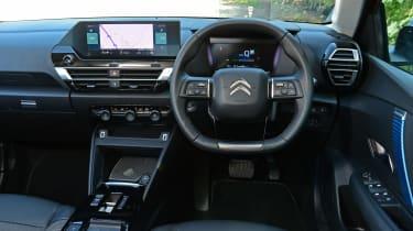 Citroen e-C4 long termer - first report dash