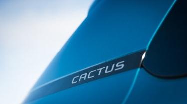 Citroen C4 Cactus - badge