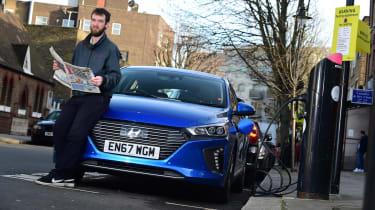 Hyundai Ioniq Plug-in long term - first report header