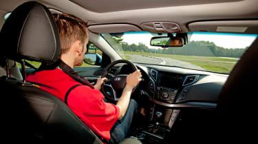 Hyundai i40 driving
