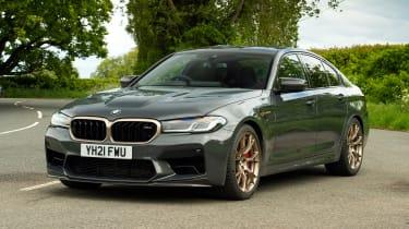 BMW M5 CS - front static