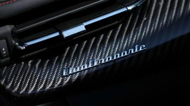 Maserati Quattroporte Trofeo - Quattroporte badge
