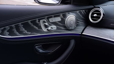 Mercedes E 300 e - interior detail