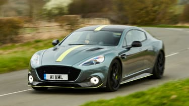 Aston Martin Rapide AMR - front action