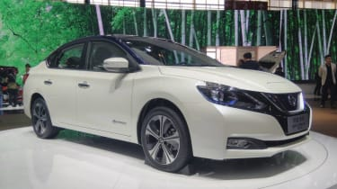 New Nissan Sylphy - front static