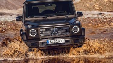 Mercedes G-Class - water