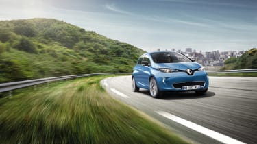 Renault Zoe 2017 - front tracking