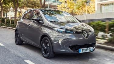 Renault ZOE EV 2017 - front tracking