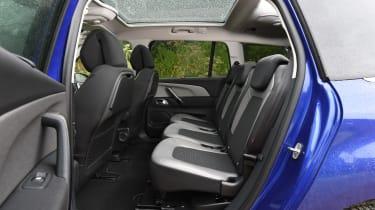 Citroen Grand C4 Picasso 2016 - rear seats