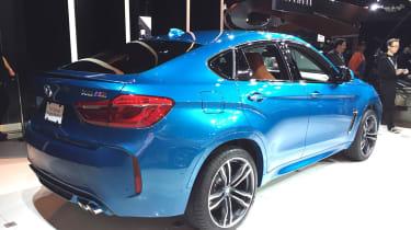 BMW X6 M rear LA 2014