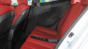 Hyundai Veloster rear seats