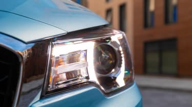 MG ZS EV headlight