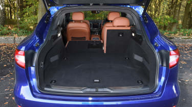 Maserati Levante used review - boot