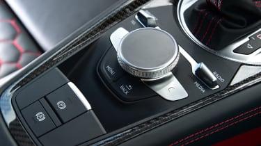 Audi TT RS - control